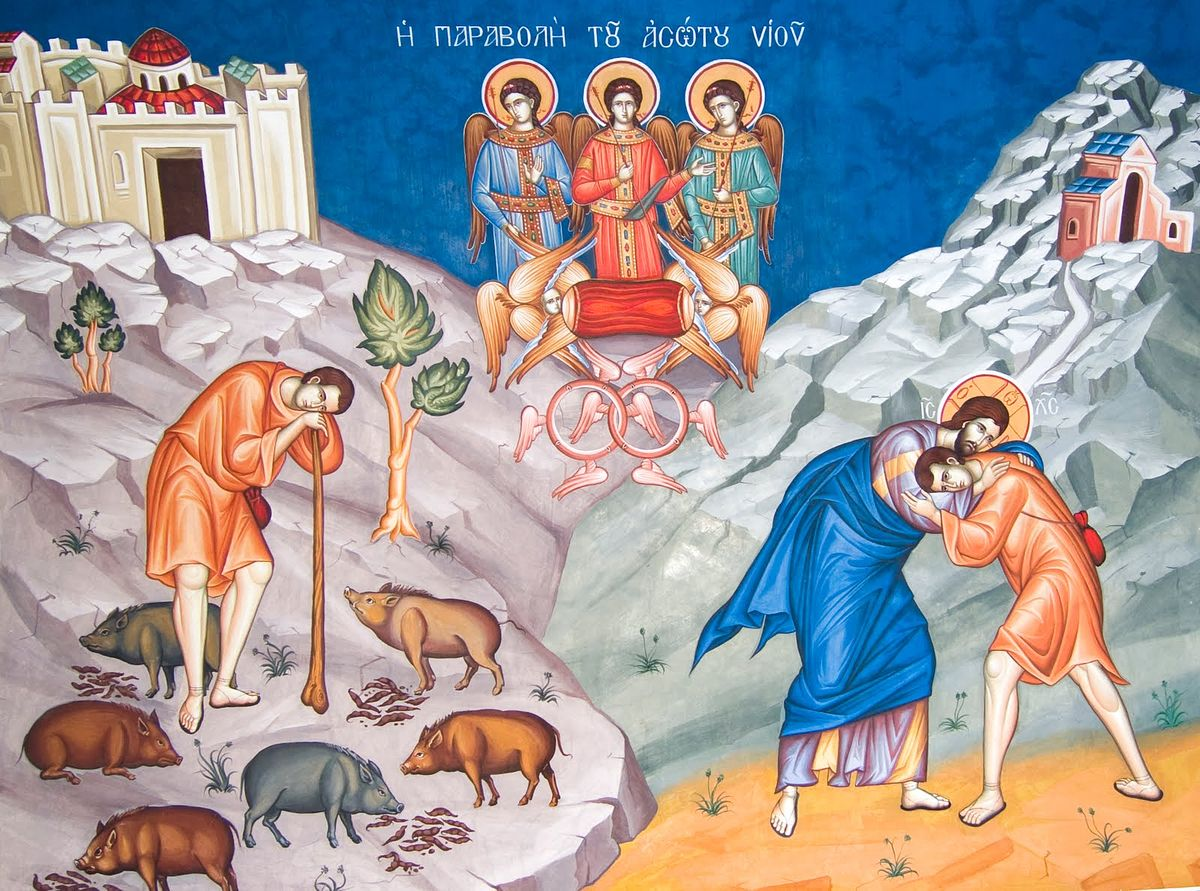 an analysis of the parable of the prodigal son a symbolic representation of the forgiveness of god What is the theme of the parable of the prodigal son and pray to god, asking for forgiveness the father in the parable represents god the youngest son.