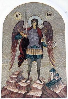 Покровитель Свято-Михайло-Афонской пустыни